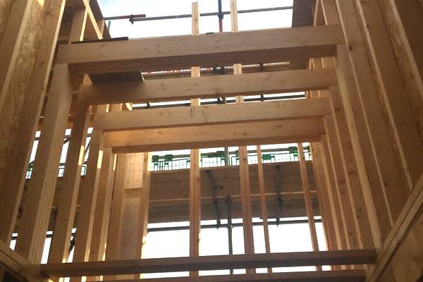 'Stick System' Timber Frame